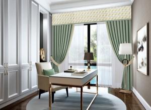 其格窗帘现代简约风装修效果图