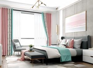 欧派软装窗帘卧室装修效果图