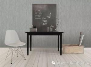 索弗仑墙布素色系列背景墙效果图
