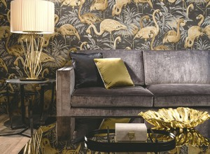 德国玛堡壁纸欧式古典风装修效果图