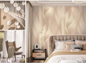 金凤凰墙纸欧式风格背景墙装修效果图