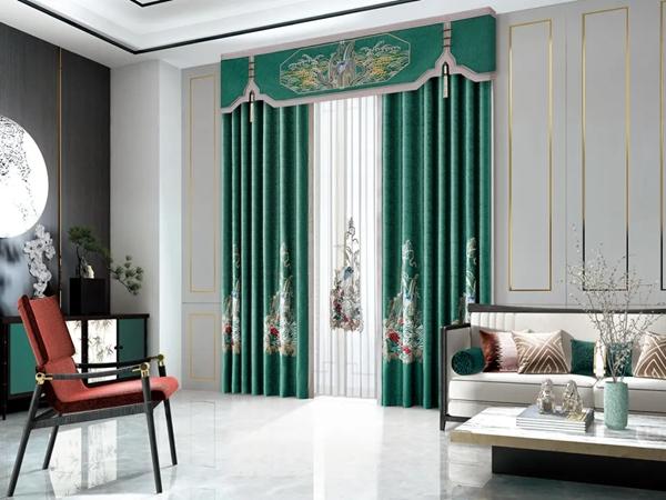 一绣倾城窗帘:醉美的东方设计