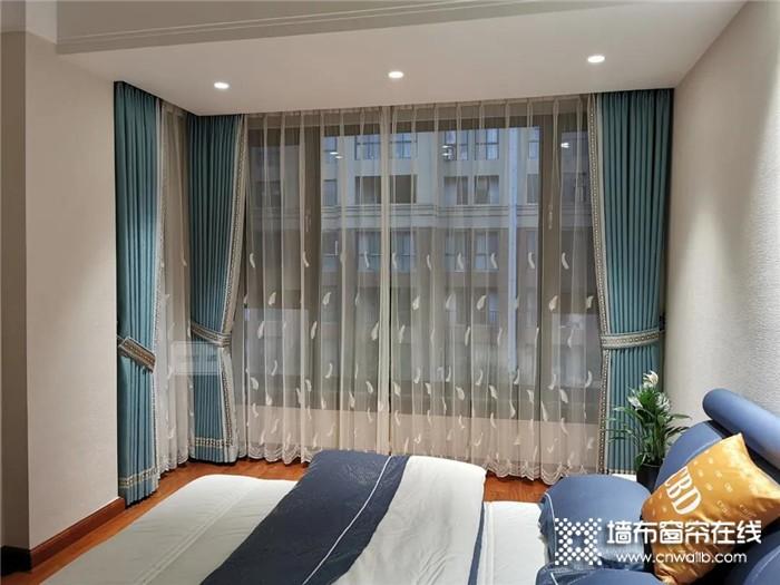 天气凉了,如鱼得水教你如何用窗帘打造温暖舒适的卧室