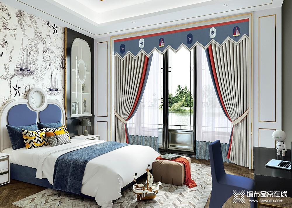 【窗帘十大品牌】环美空间-卧室窗帘