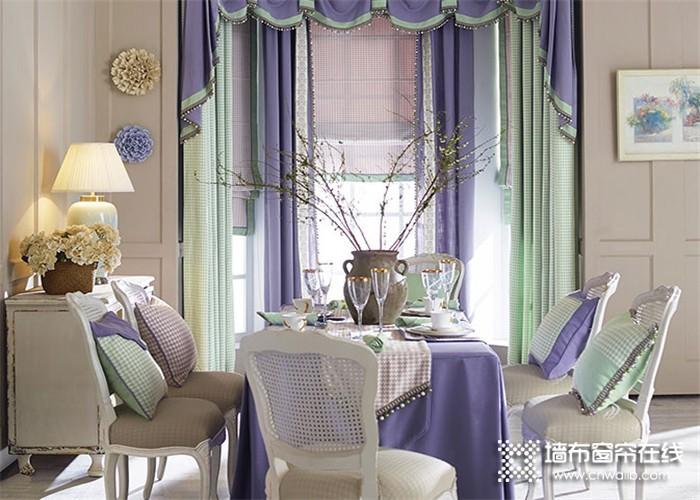 依依布舍-现代浪漫紫+薄荷绿