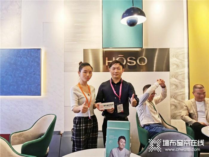 【上海墙布展】再次成为人气焦点,一起感受宏绣的无限魅力!