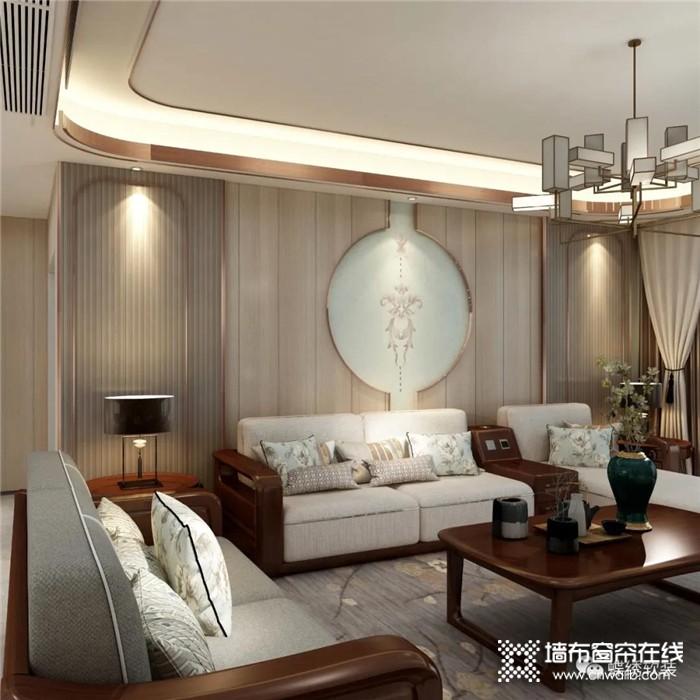 蝶绣那些绝美的新中式墙布,我不允许你家还没有!