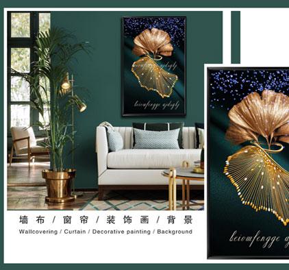 丽绣软装新品装饰画系列装修效果图