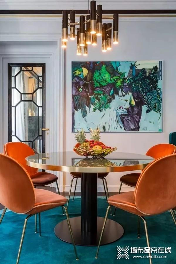斯纳格墙布:家居色彩搭配 搭出高级感