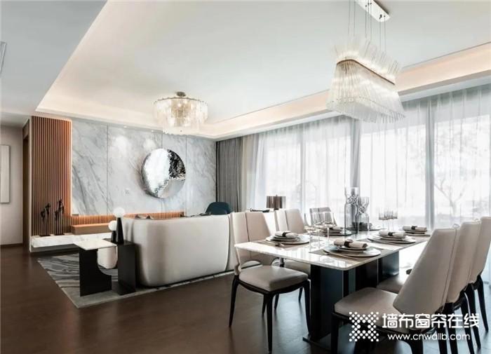 丽绣的蒂芙尼蓝+山茶白系列,两套精致样板间唯美来袭!