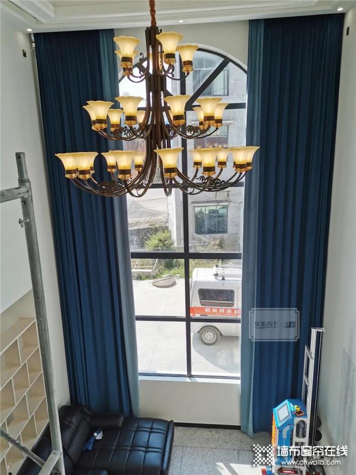 别墅挑高窗帘定做需要注意哪些细节问题?如鱼得水来为你解答!