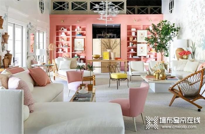 布之美那些新潮色彩窗帘,惊艳你的家!