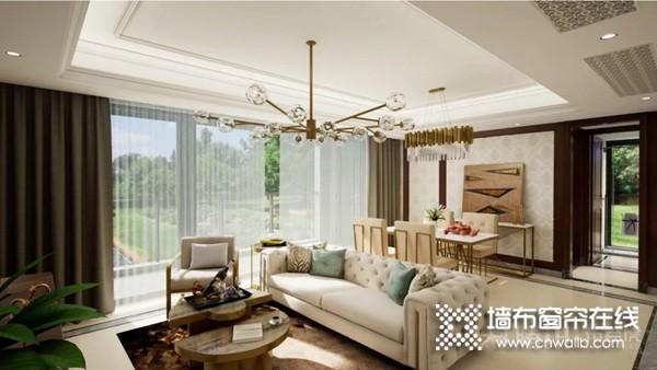 腾川•布老虎整体软装:客厅窗帘分类及作用