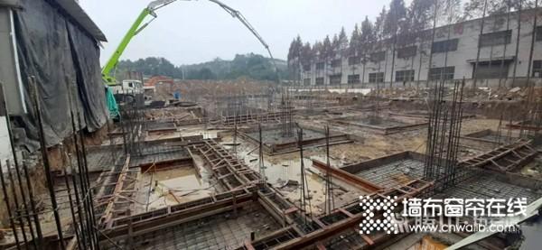 腾川•布老虎整体软装三期工程建设如火如荼加紧施工