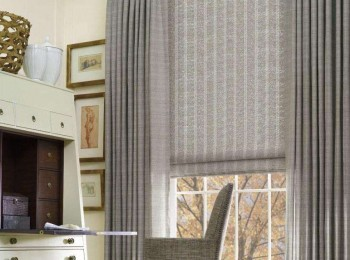 简约风的棉麻窗帘,符合现代人审美的一种窗帘