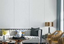 墙布与沙发完美搭配,让家的颜值与众不同