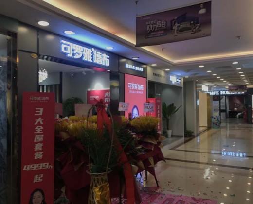 可罗雅墙布江苏常州专卖店