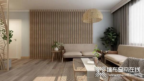 天衣无缝墙布新品速递:日式原木风,简与素的墙面艺术
