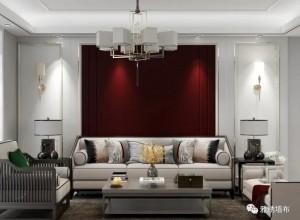 雅绣之家墙布床头背景墙装修效果图