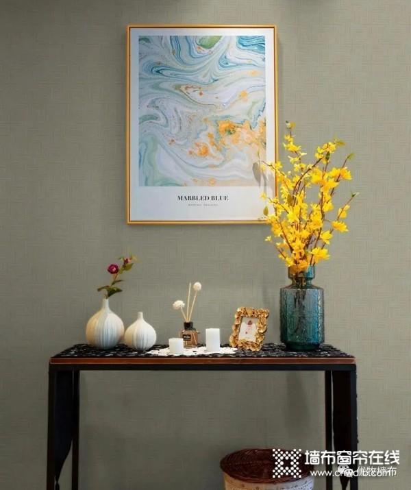 优牧无缝墙布分享几条墙布色彩搭配的原则