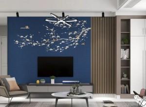 雅绣之家客厅电视背景墙装修效果图,赶紧收藏