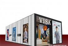 【北京墙布展】风华正当时,VISA邀你共赴美学盛宴
