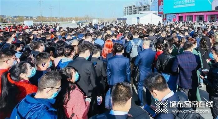 大牌驾到,VISA高端墙布窗帘E1-C09惊艳亮相北京墙布展!