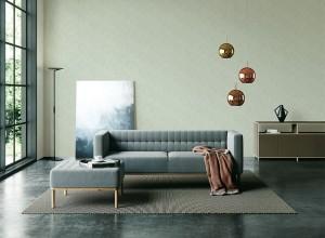 美际墙布效果图,现代风系列装修效果图