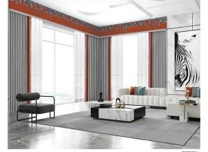 澳特丝维莎成品窗帘7011系列效果图