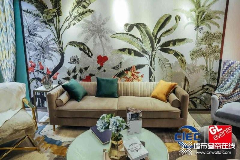 2021上海墙纸墙布窗帘软装展再升级_2