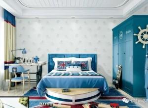 七特丽墙布儿童房装修图,用墙布装饰儿童房充满童趣守护健康