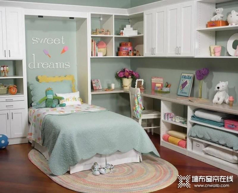 儿童房窗帘完美搭配_1