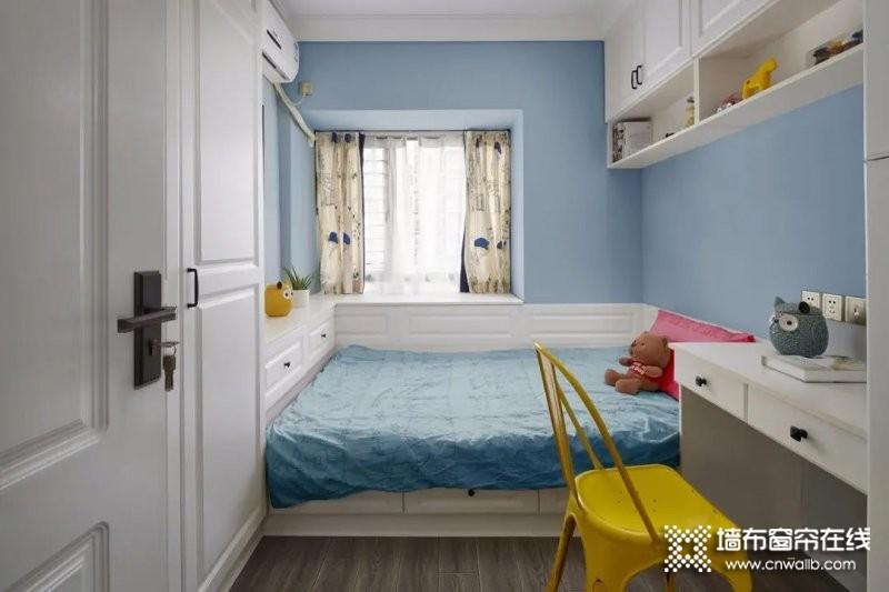 儿童房窗帘完美搭配_2