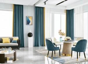 城市素颜窗帘装修效果图,美出新高度