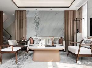 领绣刺绣墙布新中式风格效果图,演绎东方美学