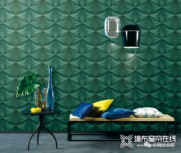 七特丽墙布   用墙布与布艺搭配高逼格软装效果的5大秘诀!