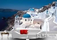 地中海风格家具应该配什么颜色墙纸?