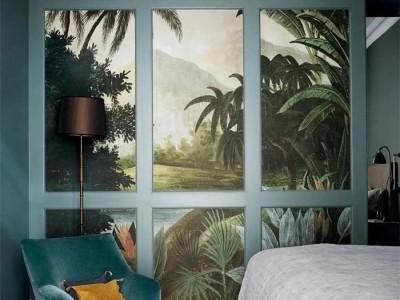 曼秀无缝墙布——讨一方恬静,漫步于热带丛林中