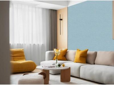 不喜欢传统的涂料墙,喜欢无缝墙布,但怎