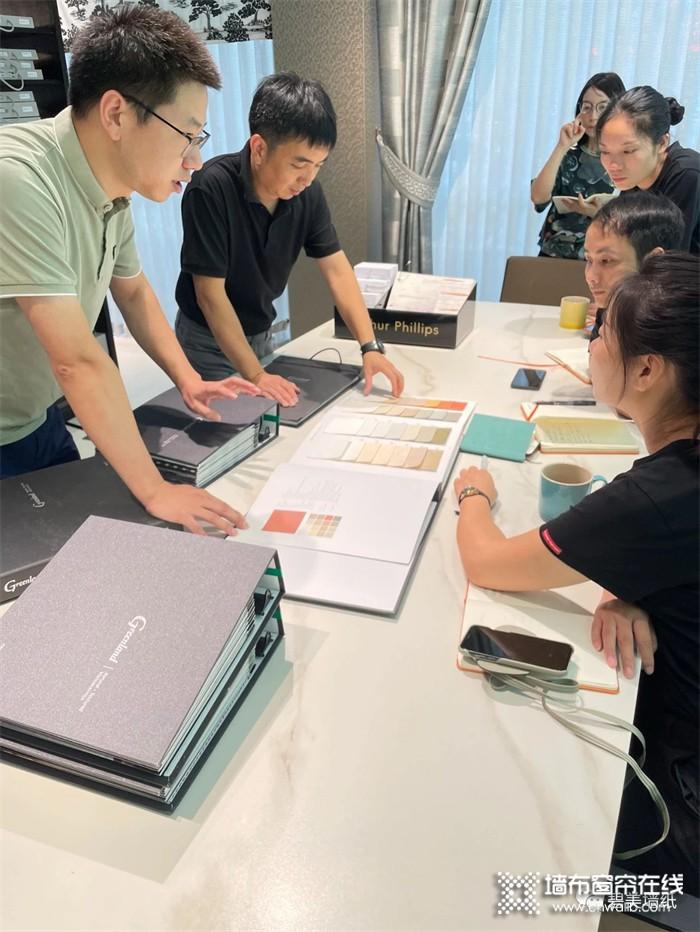 碧美墙纸A7模式终端培训完美收官,提供培训、运营、安装无边界服务新模式