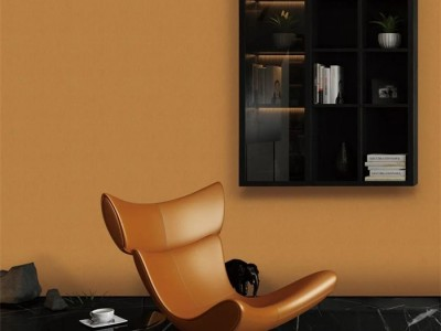 """玉麒麟墙布:秋天里的""""第一杯奶茶色""""上墙后,简直美艳不可方物"""