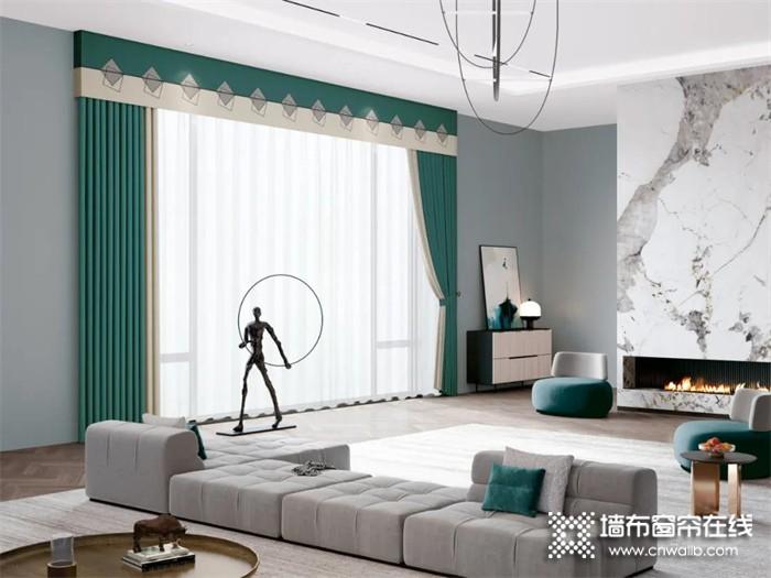 VISA高端墙布窗帘 用最好的爱给你最幸福的家