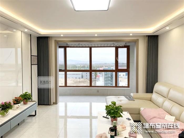 如鱼得水窗帘精品 | 如果阳台不装门,窗帘应该装在哪?