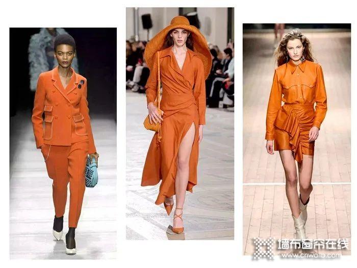 如鱼得水溢彩窗帘:爱马仕橙,窗帘配色里的一抹暖阳!