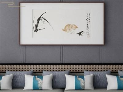科布斯美学墙布装修案例——不一样的新中式,一样的高品质