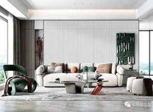七特丽墙布高级灰风装修效果图,魅力值爆表!
