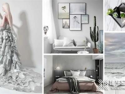 丽绣墙布:百搭高级灰,气质非凡的颜色,演绎平凡生活中的浪漫
