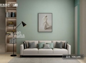 如鱼得水无缝墙布背景墙效果图,让家更有温度